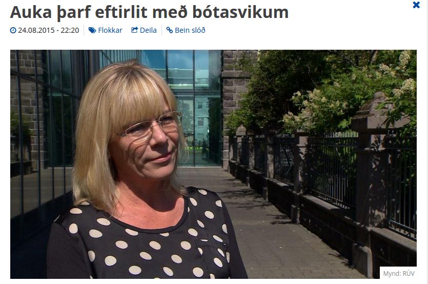 Vigdís Hauks fer enn rangt með staðreyndir vísvitandi