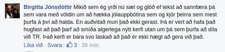 Munu orð Birgittu hafa áhrif á fylgi Pírata?