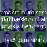 Sá rauði hefur snúið á braut réttlætis og sanngirni.