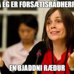 Sorgleg staðreynd.
