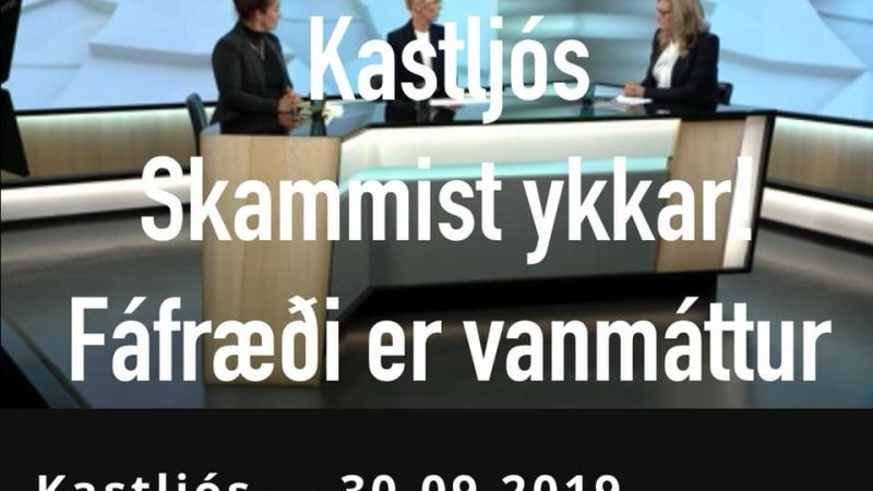 Kastljós dælir út hræðsluáróðri. Hvetur landlæknir fólk til tóbaksreykinga?